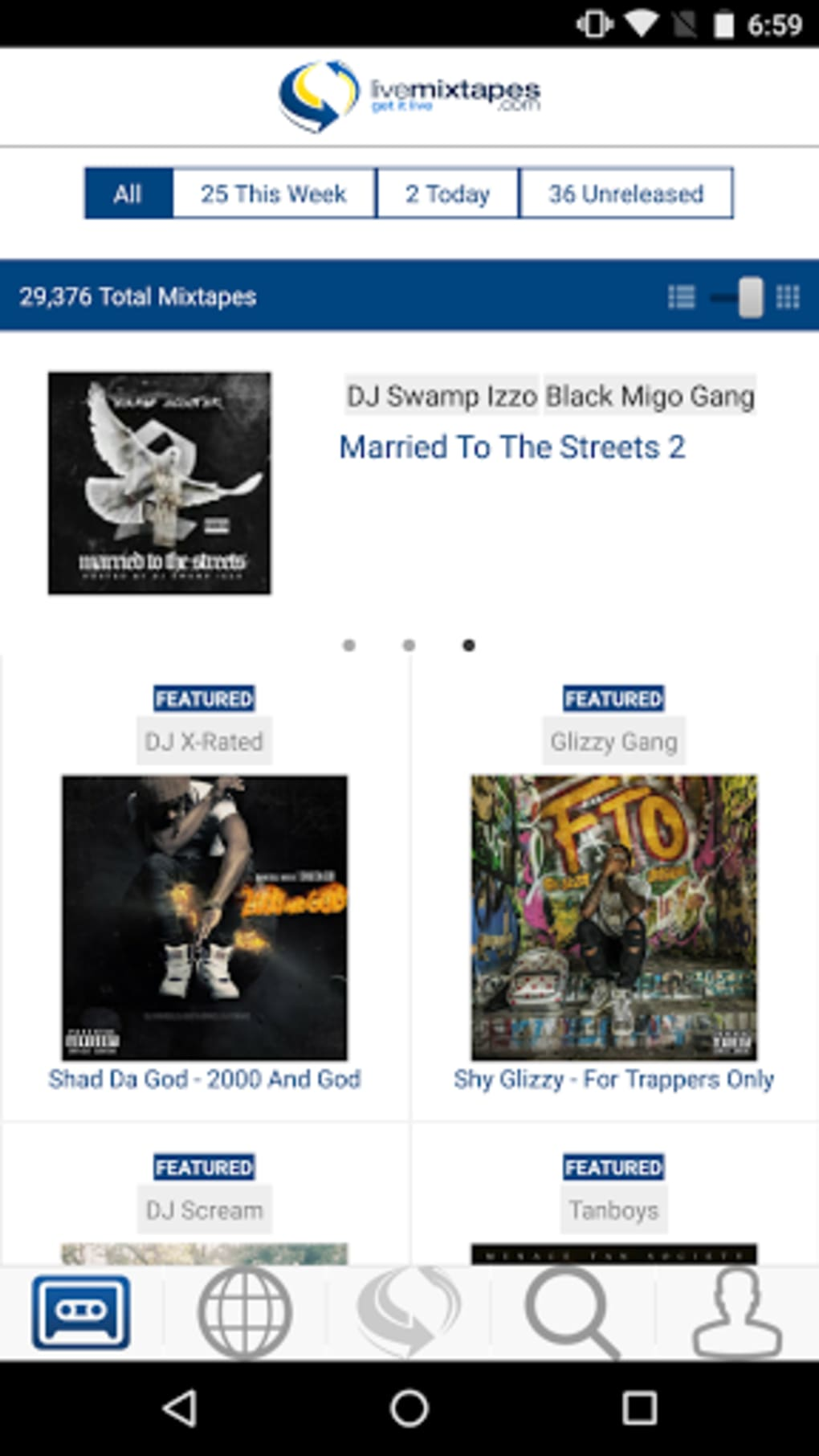 LiveMixtapes for Android - Download