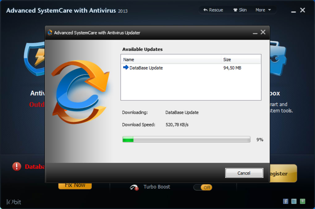Advanced SystemCare with Antivirus - Download