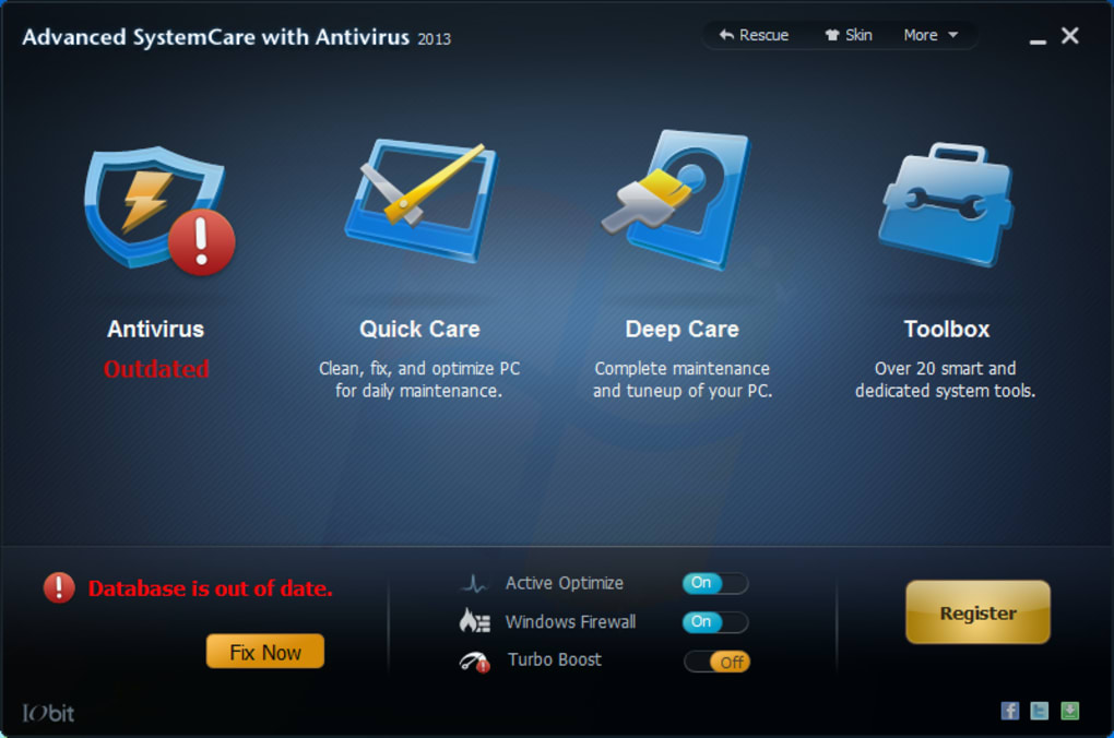 advanced systemcare antivirus download