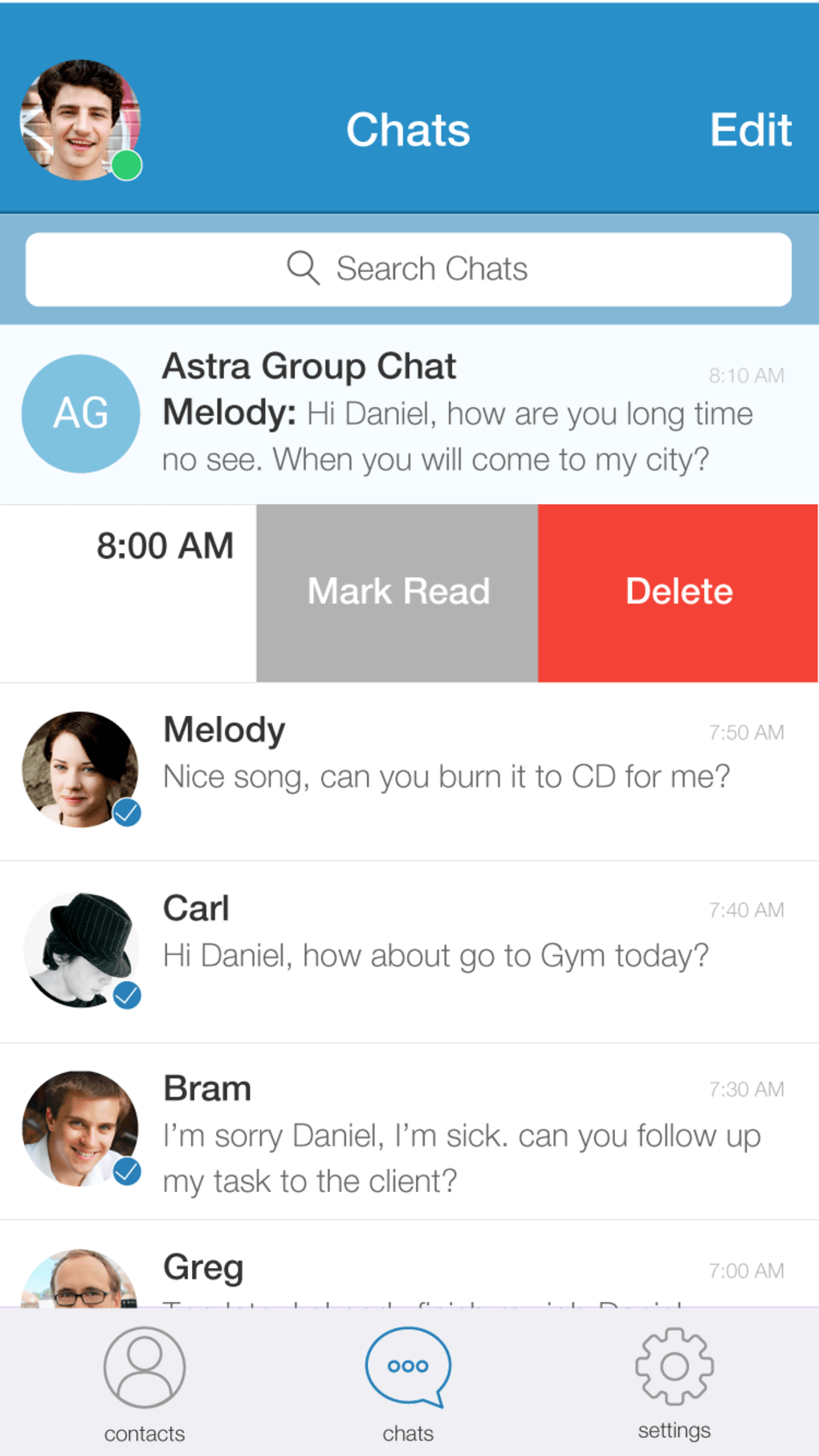AstraChat - Direct XMPP & VOIP Client