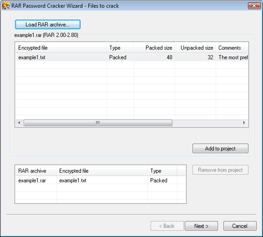 RAR Password Cracker - Download