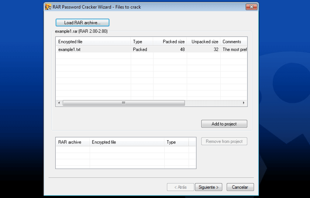 RAR Password Cracker - Descargar