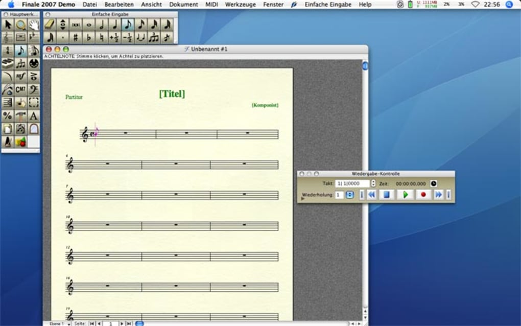 The World Standard in Music Notation Software
