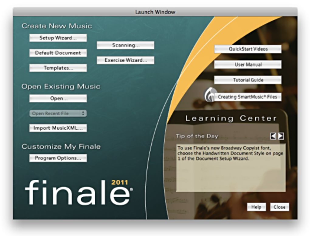 Finale for Mac - Download