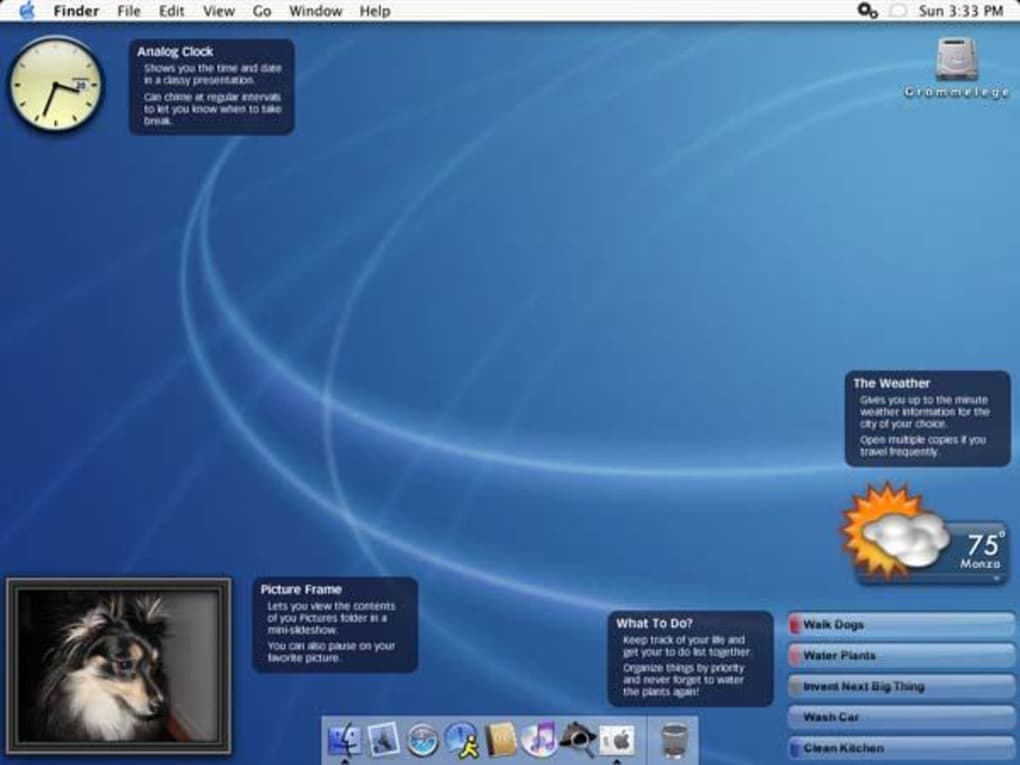 download yahoo widgets for mac os x
