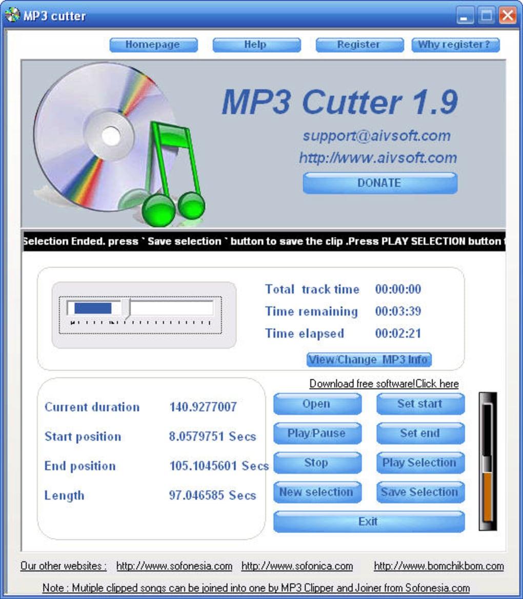 AIV MP3 Cutter - Download