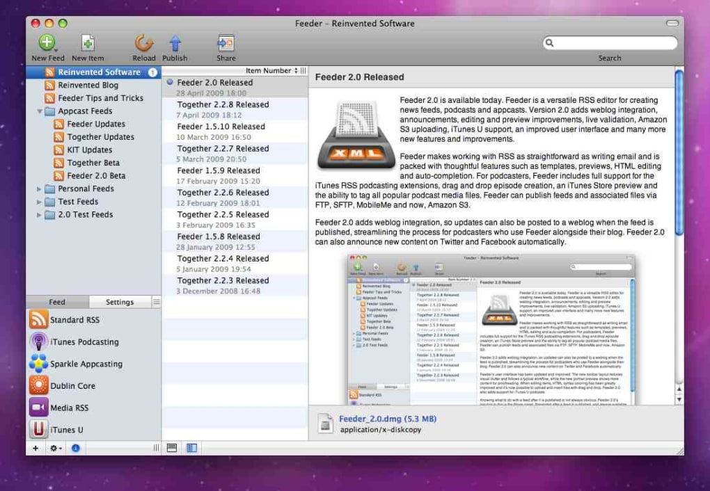 Feeder for Mac - Download