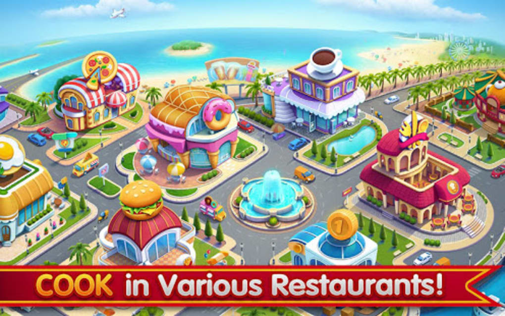 Cooking City Crazy Restaurant Game For Android Download