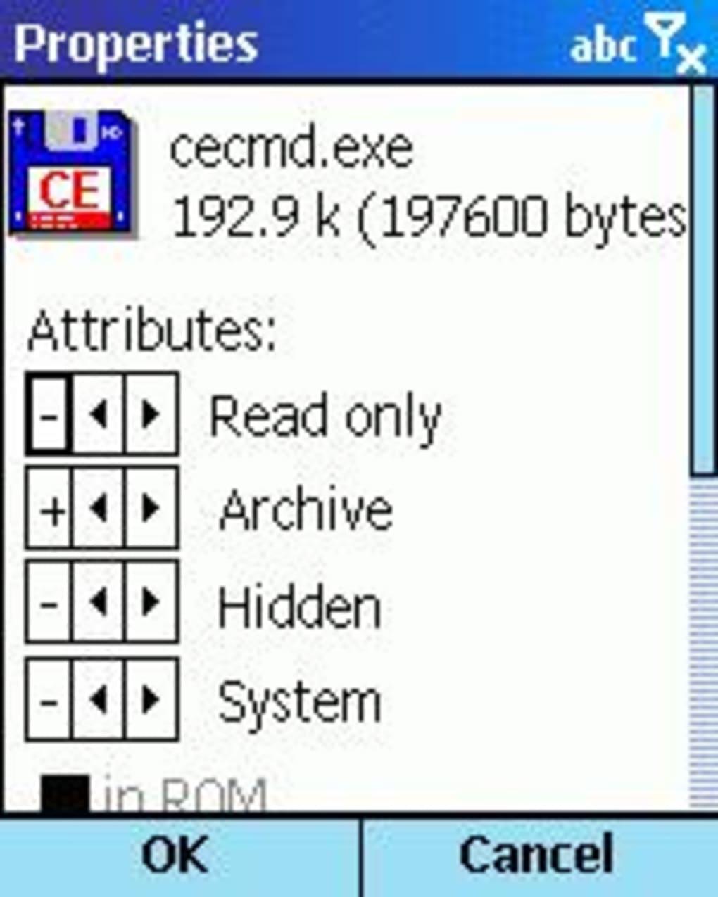 Total Commander for Windows Mobile - Download 1/4 Screenshots