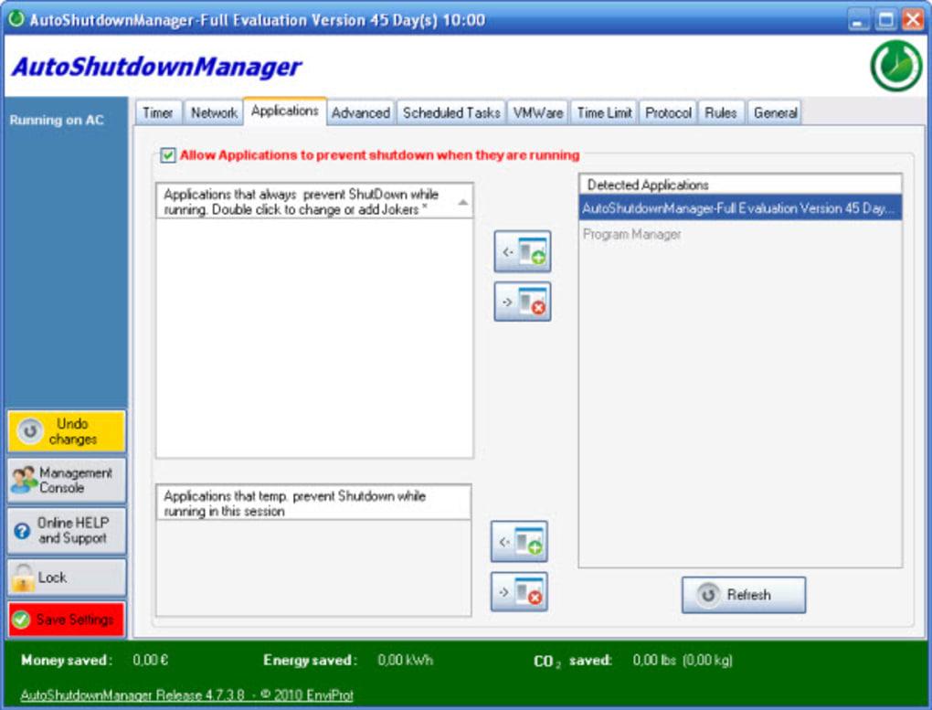 Auto Shutdown Manager 5.0.8.29