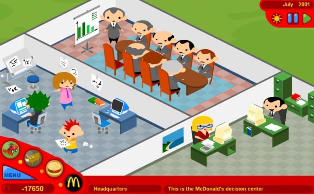Mcdonalds spel
