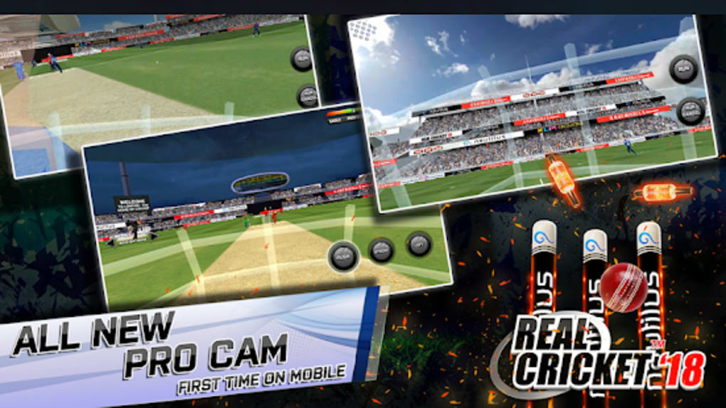 Real Cricket 18 for Android - Download