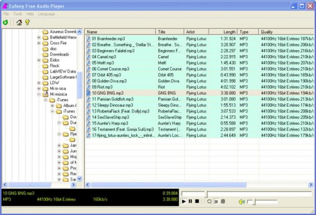 Toolsoft Audio Player - Download