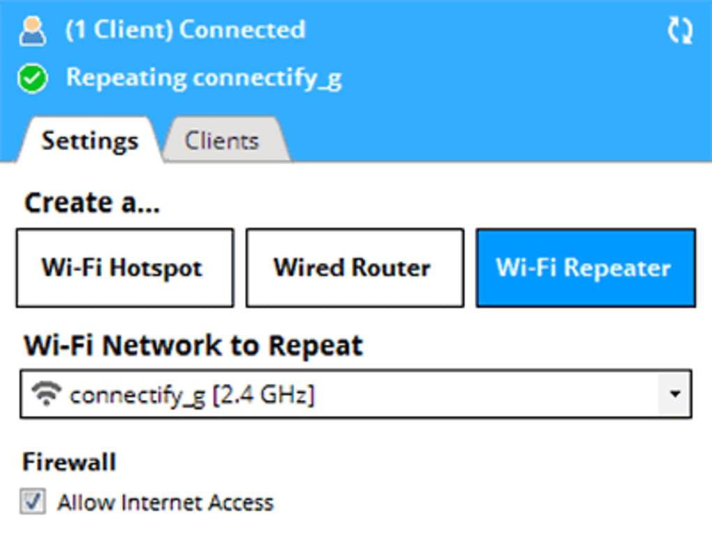 connectify lite free download for windows 7