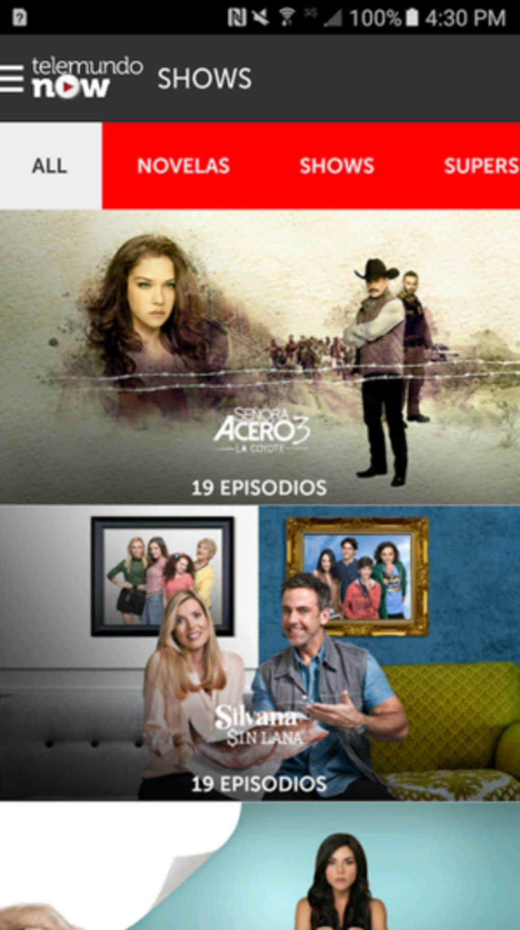 Telemundo Now for iPhone - Download