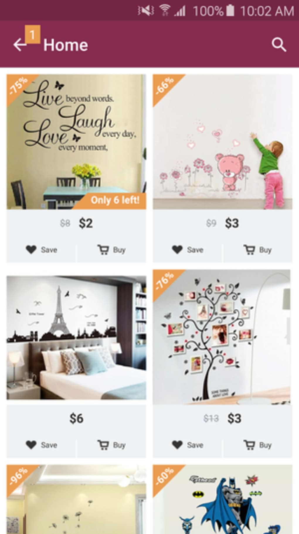 Home - Design & Decor Shopping for iPhone - Download