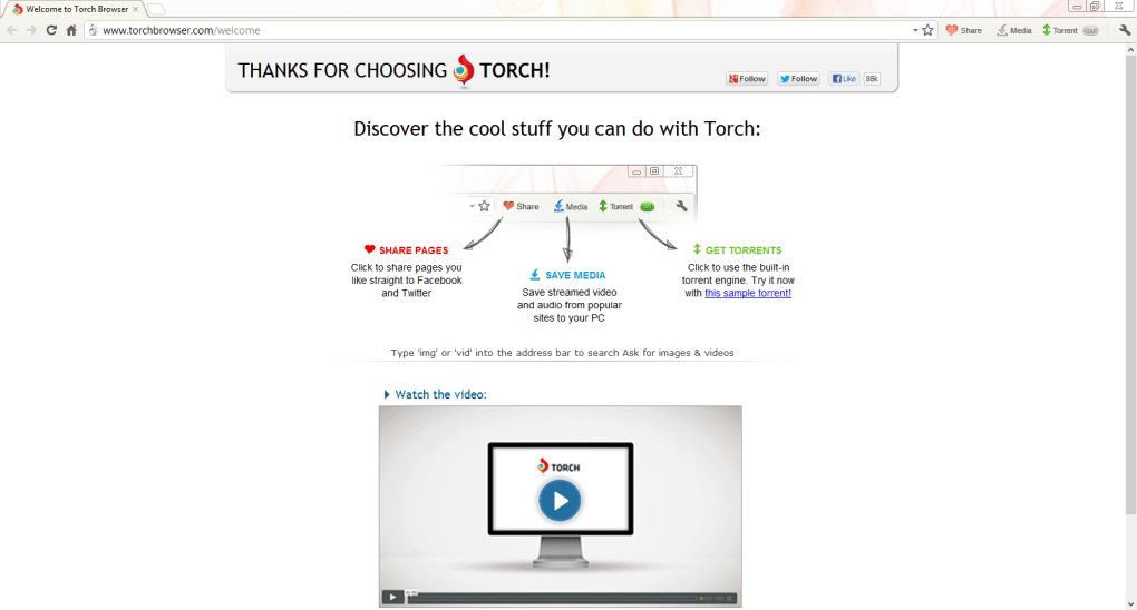 torch browser softonic