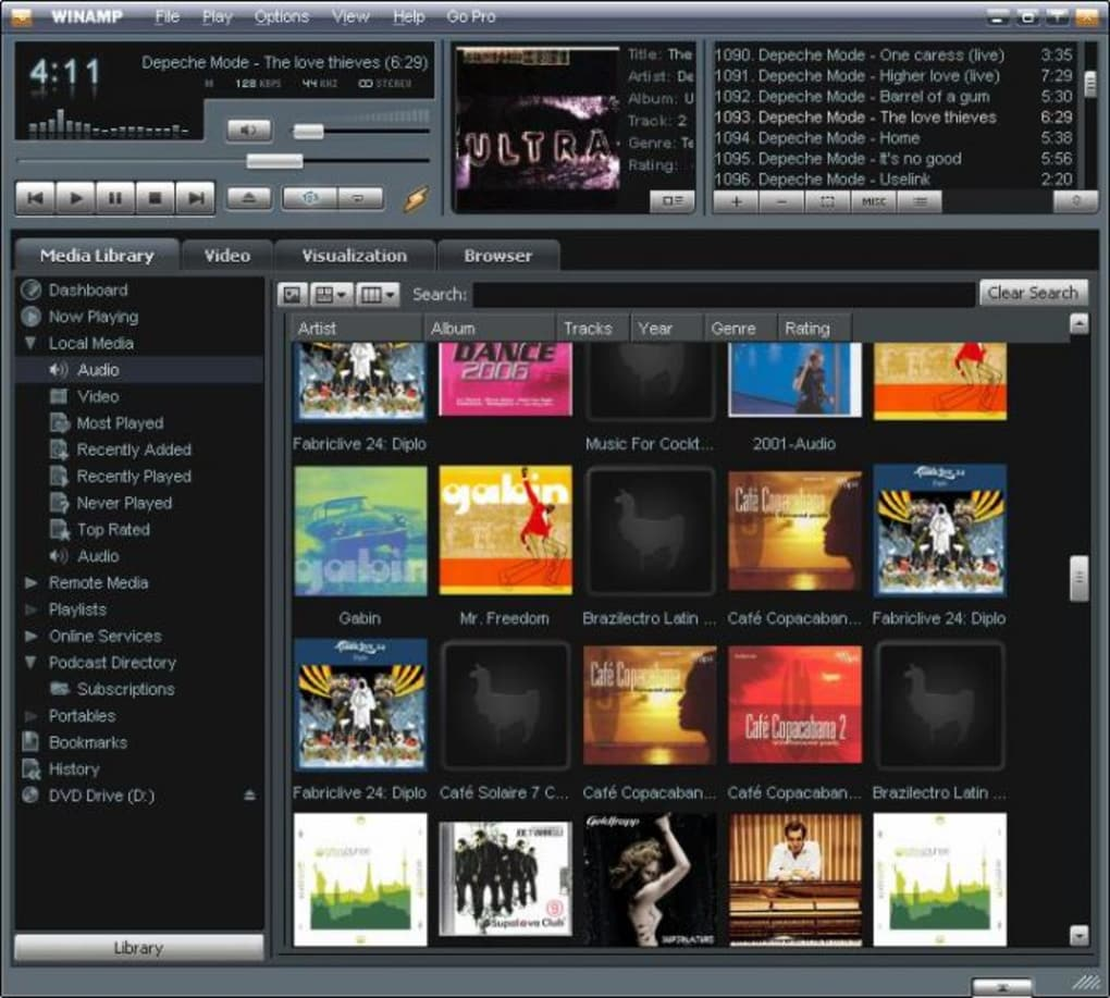 winamp free download for windows 7 64 bit