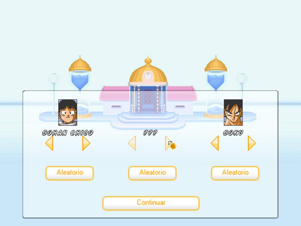 juegos de dragon ball z devolution 3 hacked