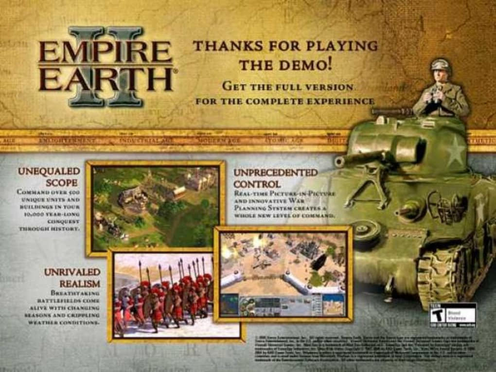 Empire Car Covers: Empire Earth II