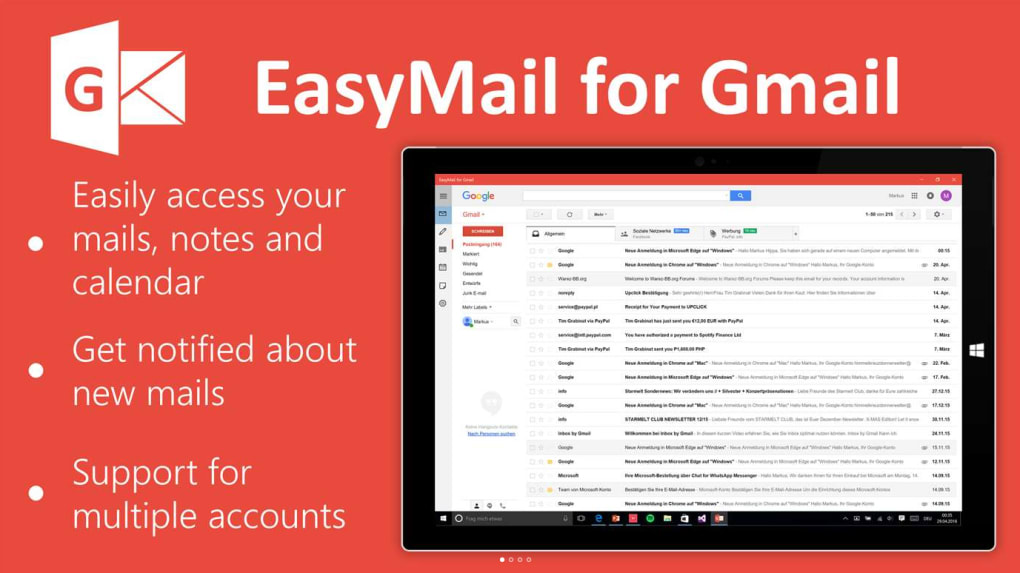 EasyMail for Gmail - Download
