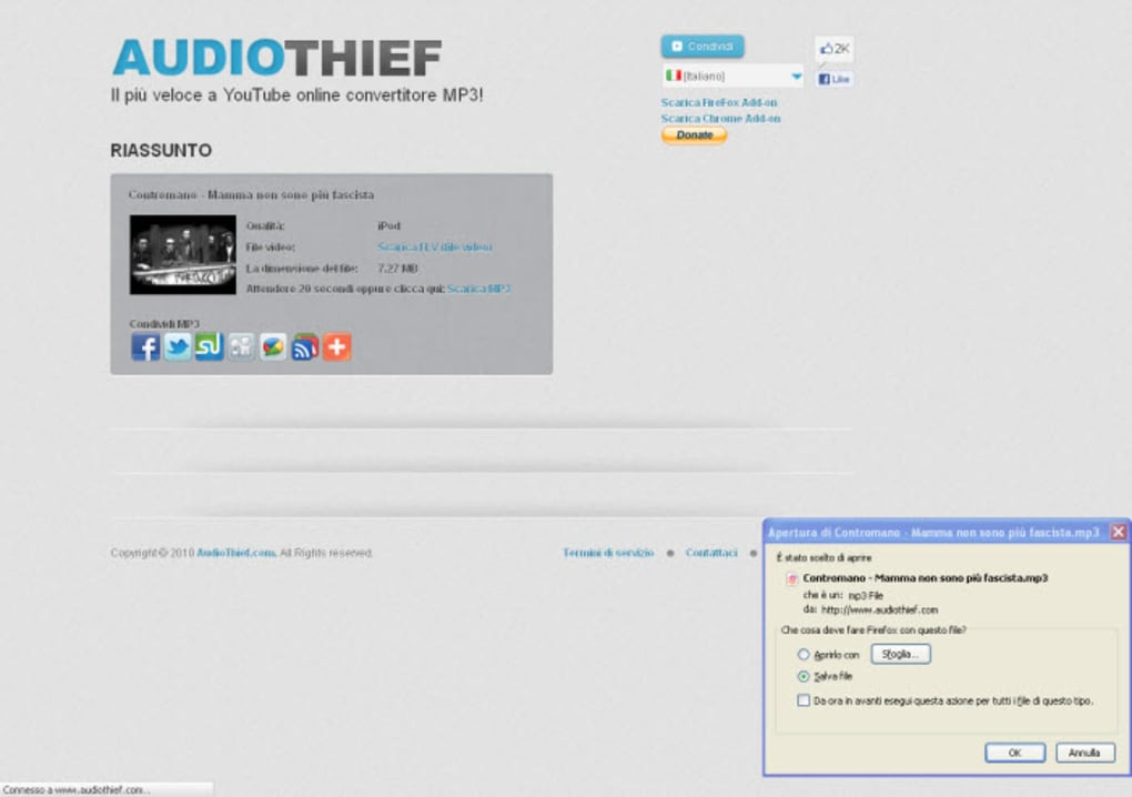 audiothief chrome