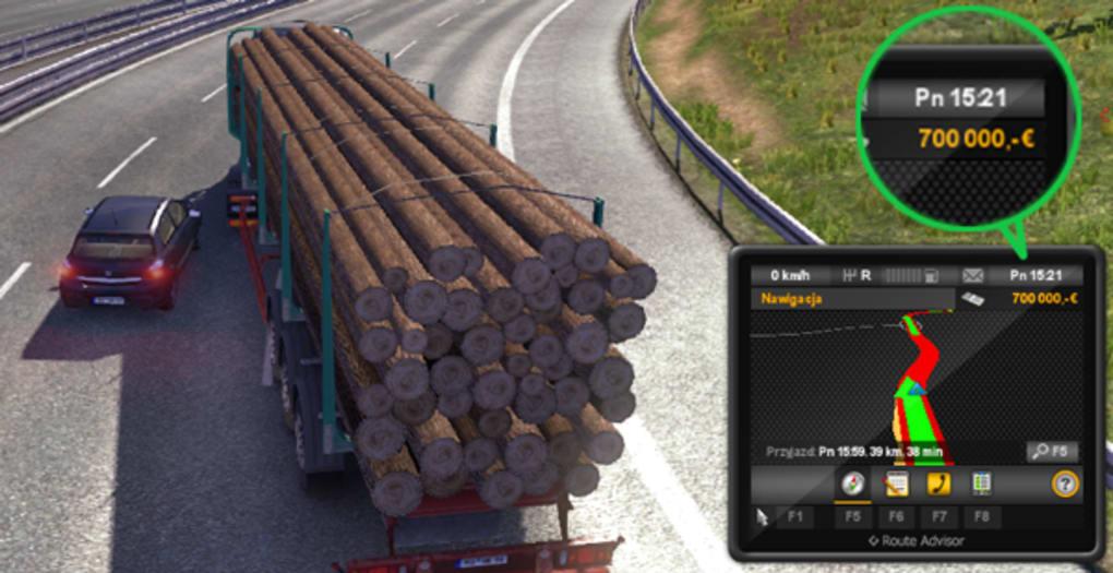 Euro Truck Simulator 2 +1 Trainer - Download