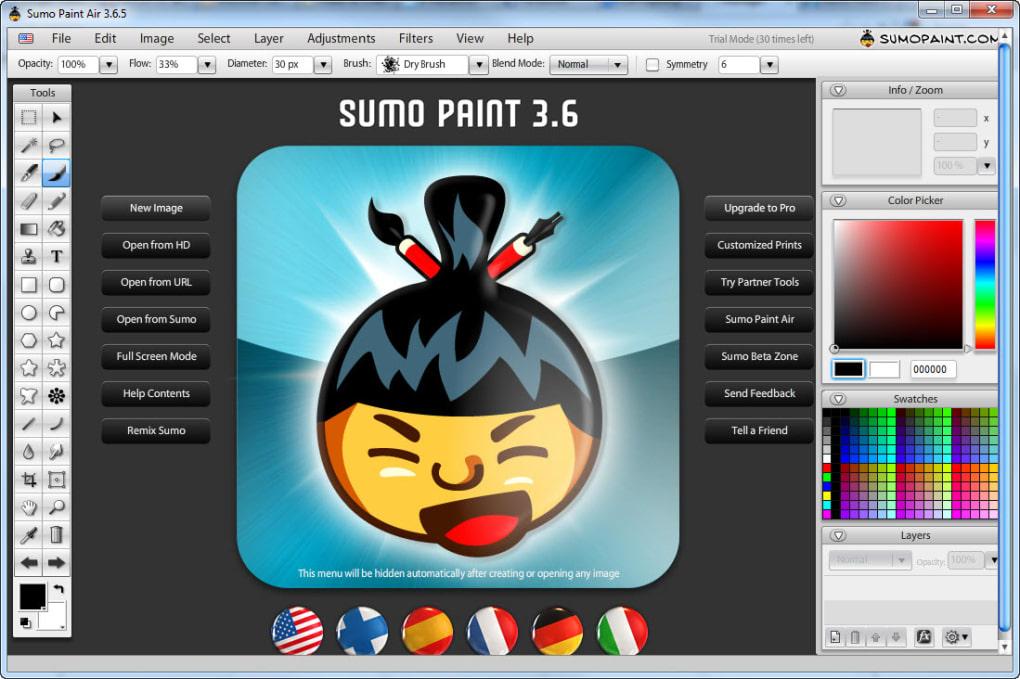 Sumo Paint Air - Télécharger