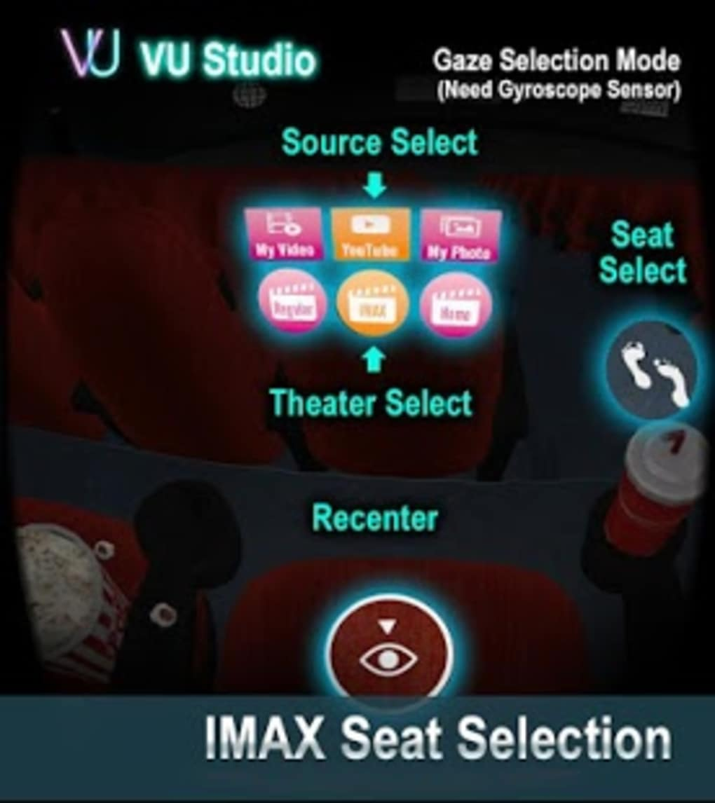 VU Cinema - VR 3D Video Player for Android - Download