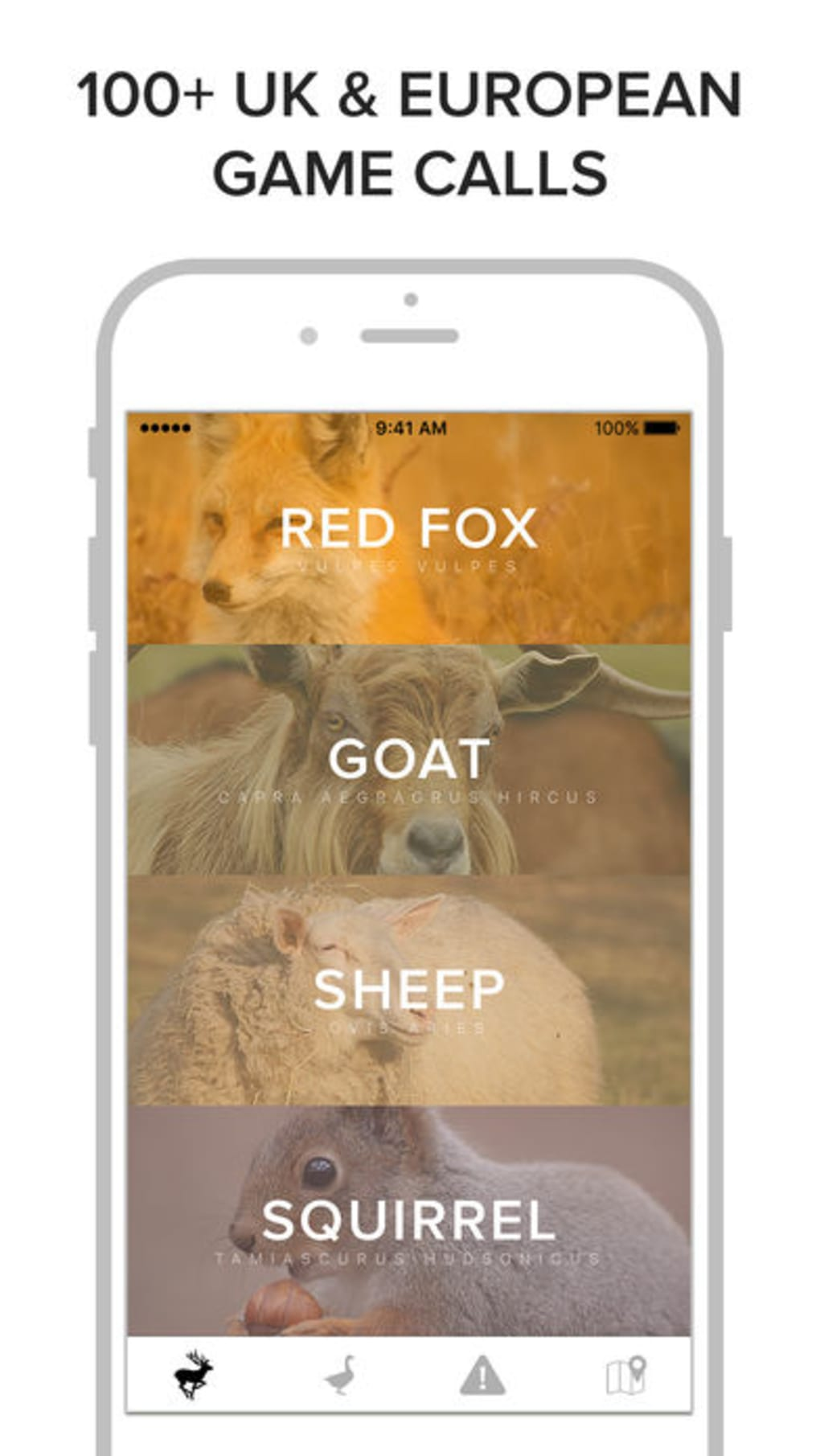 Game Calls UK & Europe for iPhone - Download
