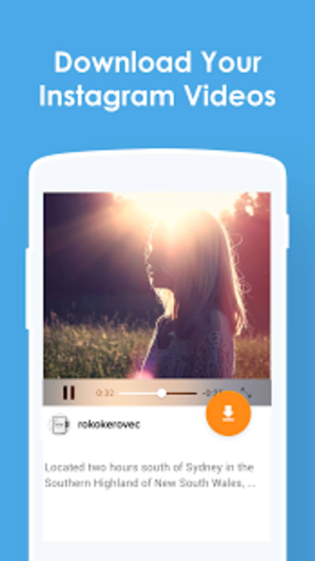 InstaSave - Download Instagram Video & Save Photos for
