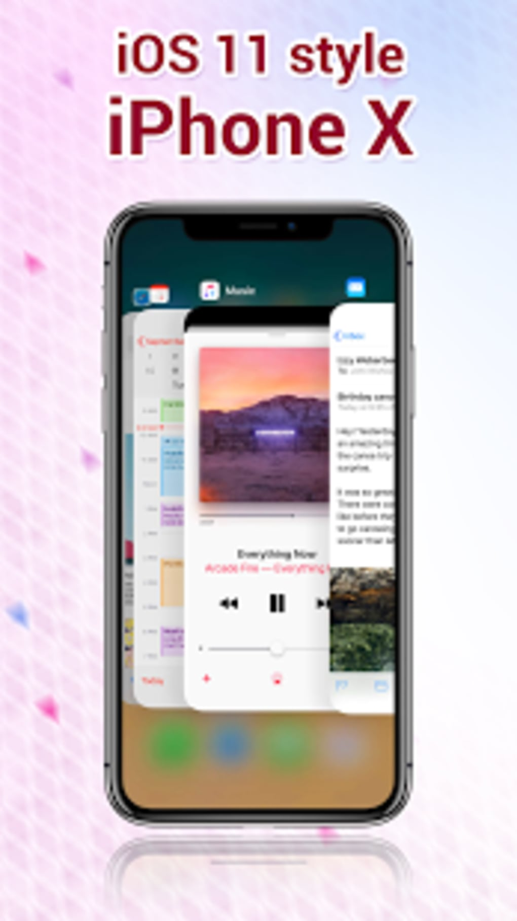 Phone X Launcher OS 11 iLauncher  Control Center