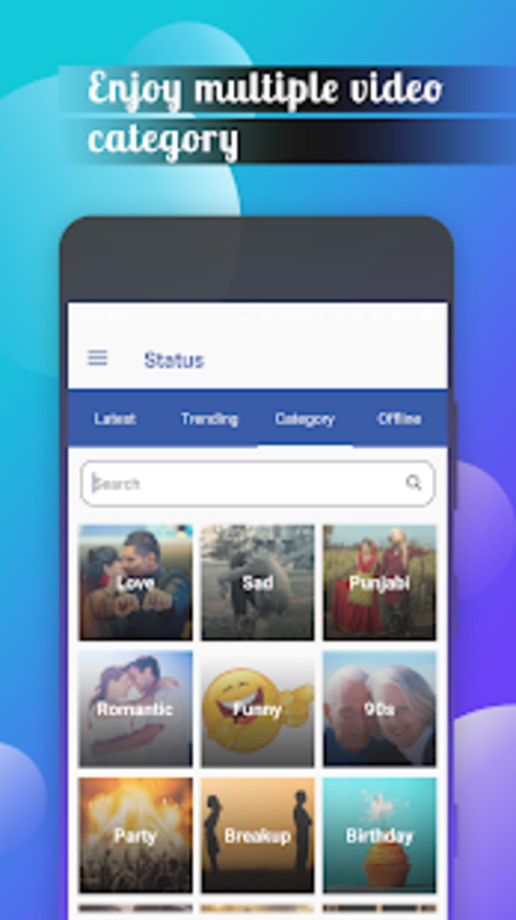 WA Status Video Hindi Video Song Status Download for Android