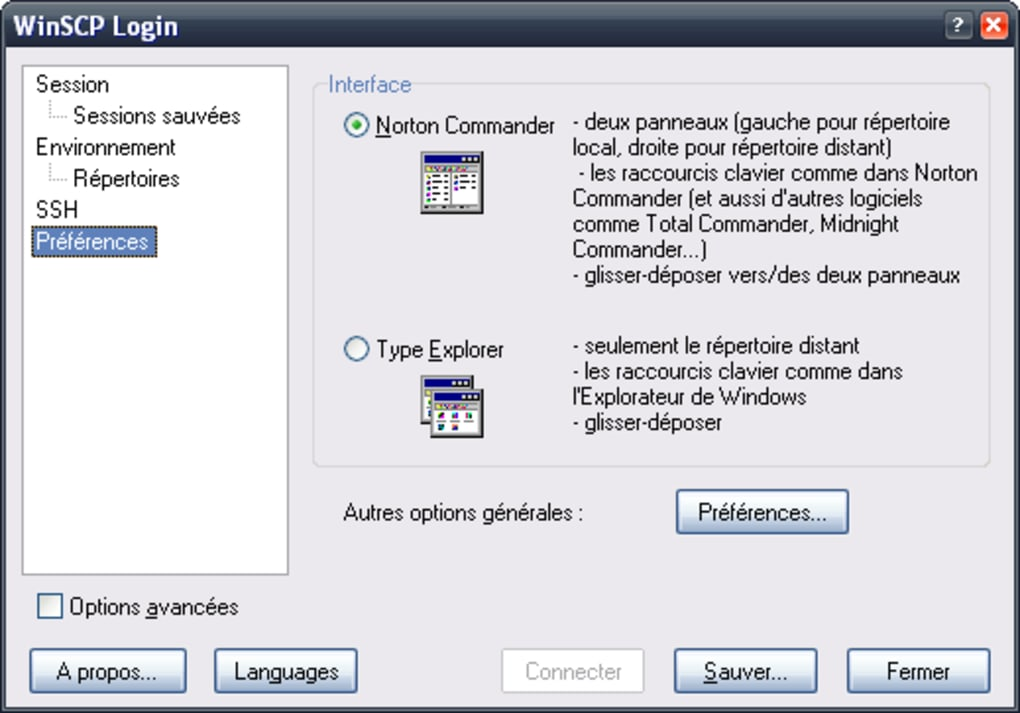 winscp pour windows xp