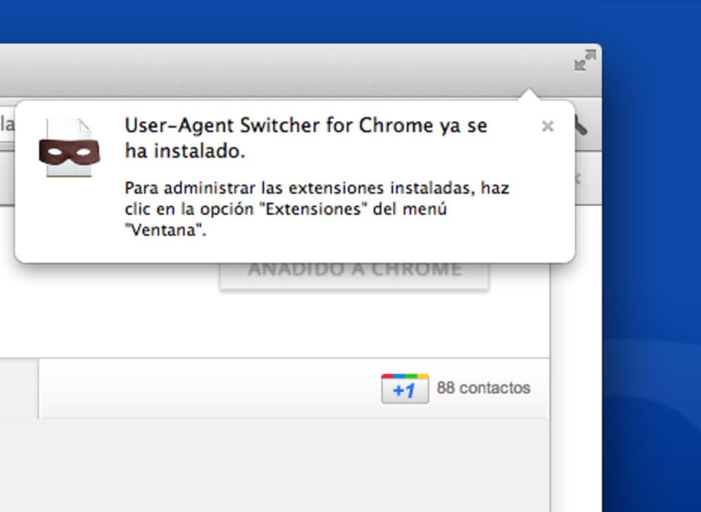 Testing - User Agent Switcher for Chrome - Stack Overflow