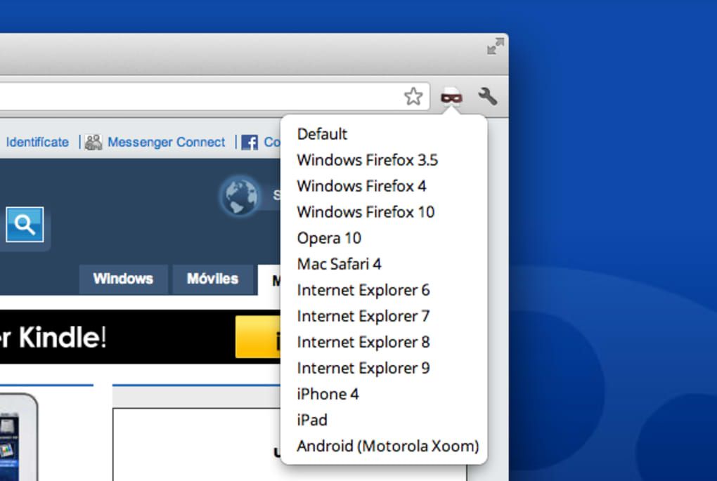 User-Agent Switcher - Download