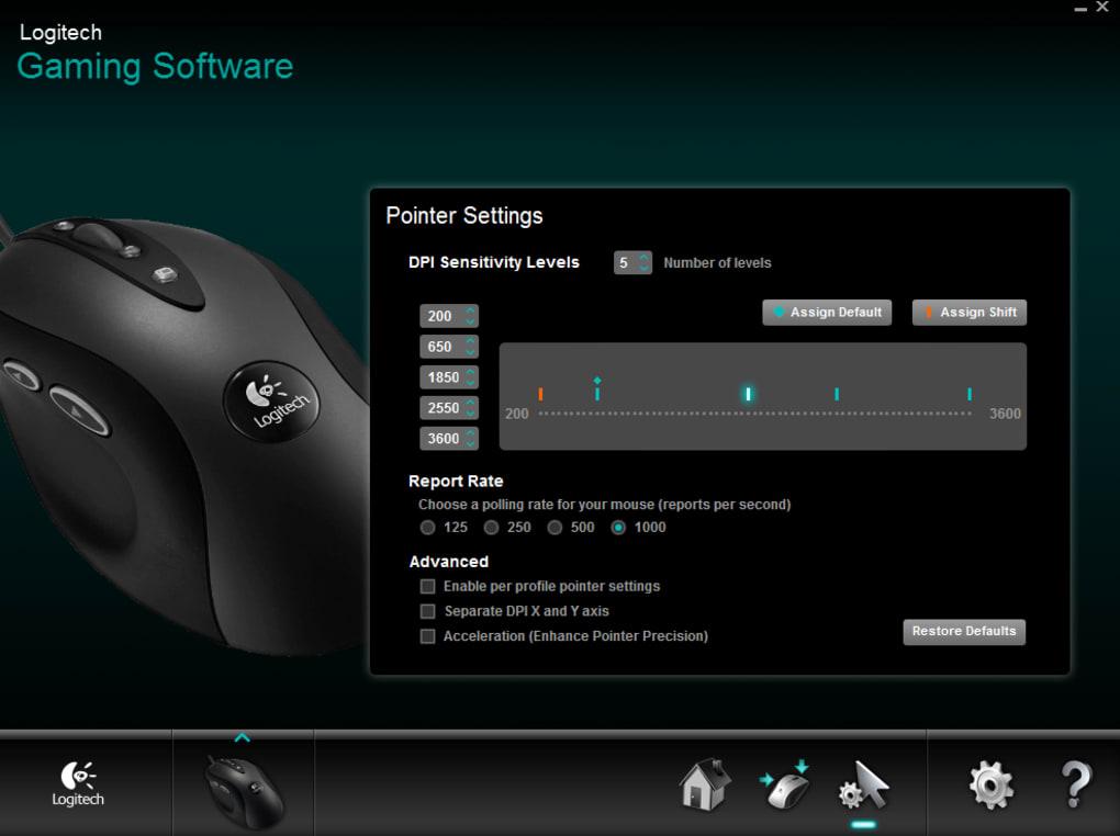 Logitech Gaming Software - Download