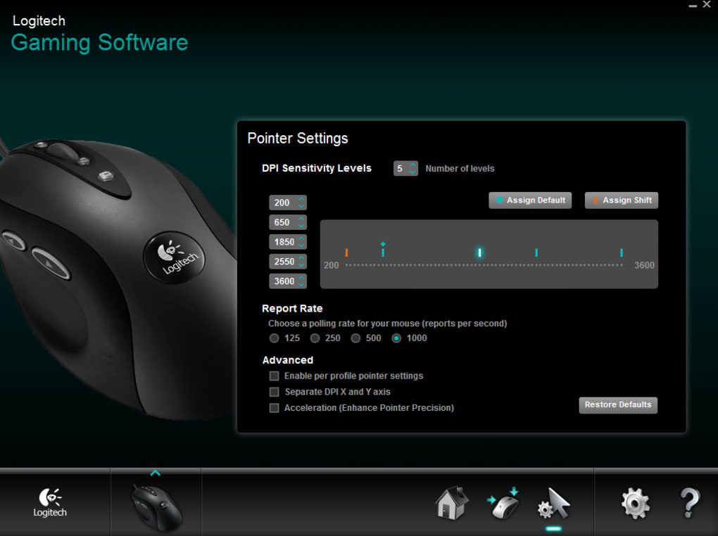 Logitech Gaming Software - Download