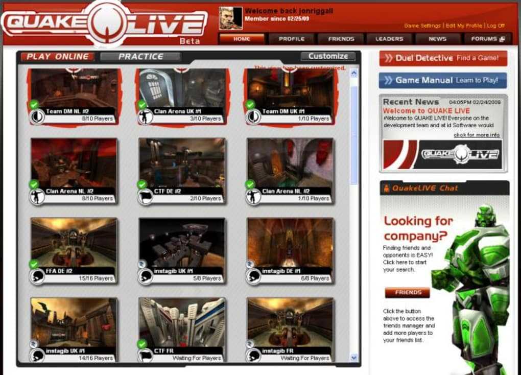 quake live download