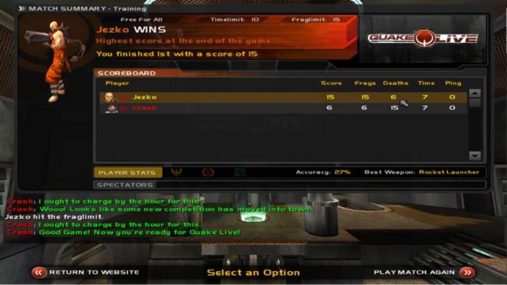 Quake Live - Télécharger