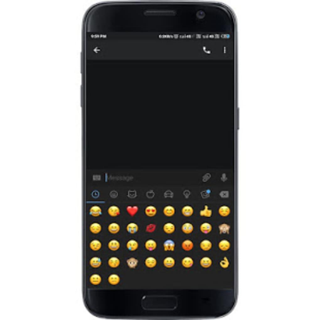black facebook messenger apk download