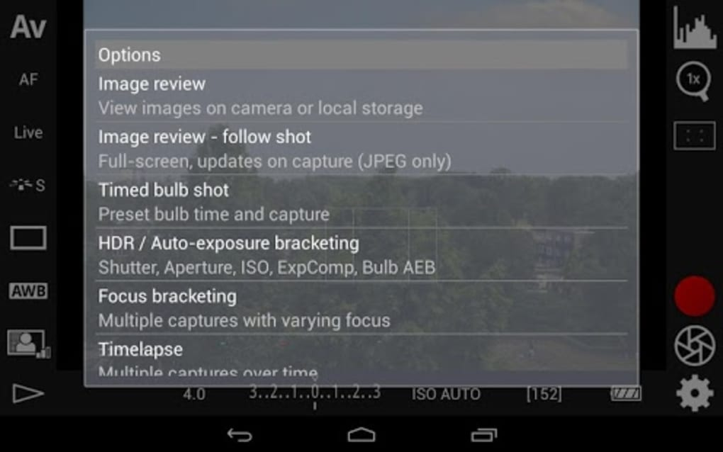 DSLR Controller for Android - Download
