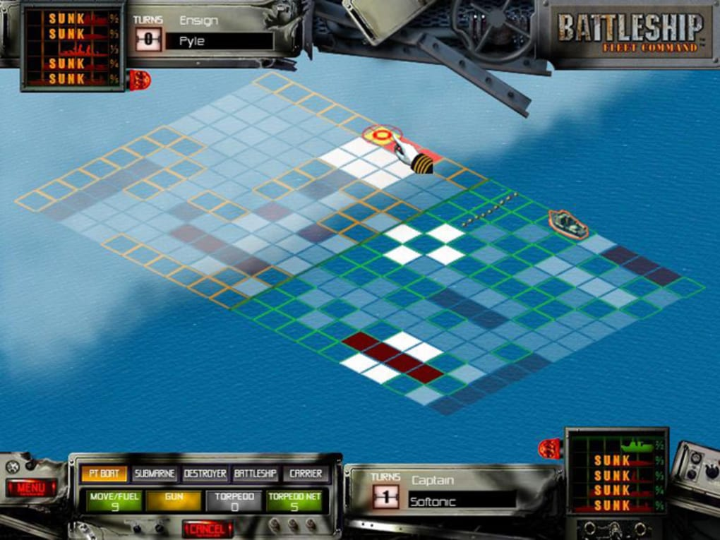 Battleship fleet command game review download and play free version!