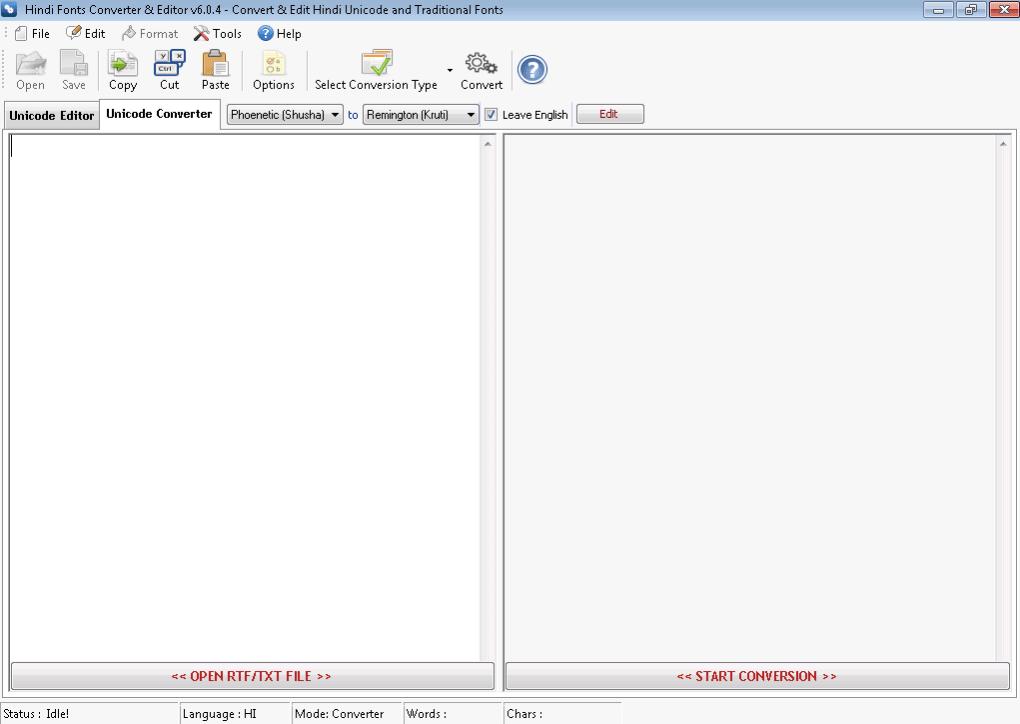 Hindi Fonts Converter & Editor - Download