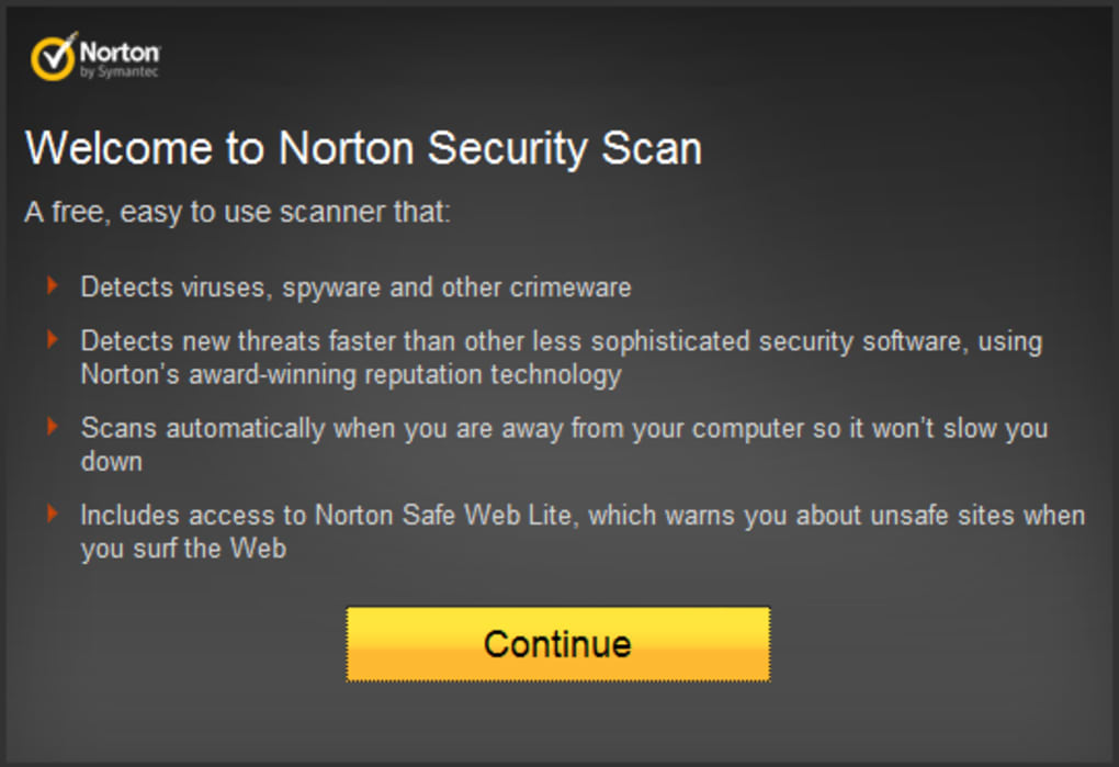 Norton Security Scan - Descargar