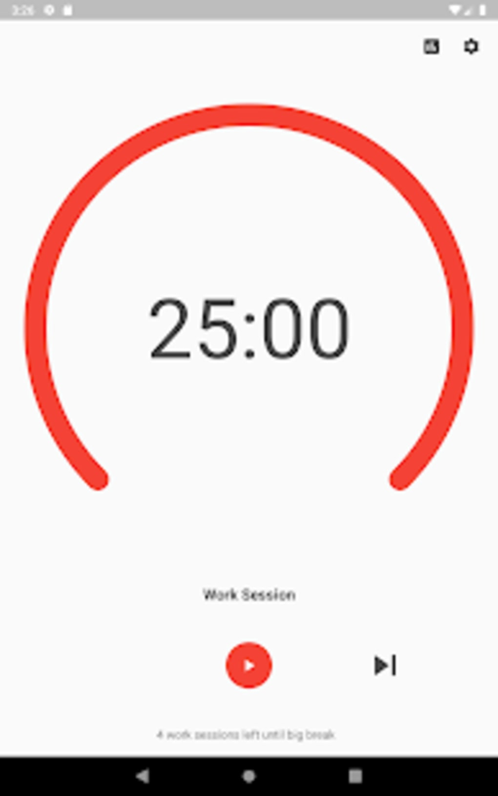 Pomodoro Smart Timer - A Productivity Timer App for Android