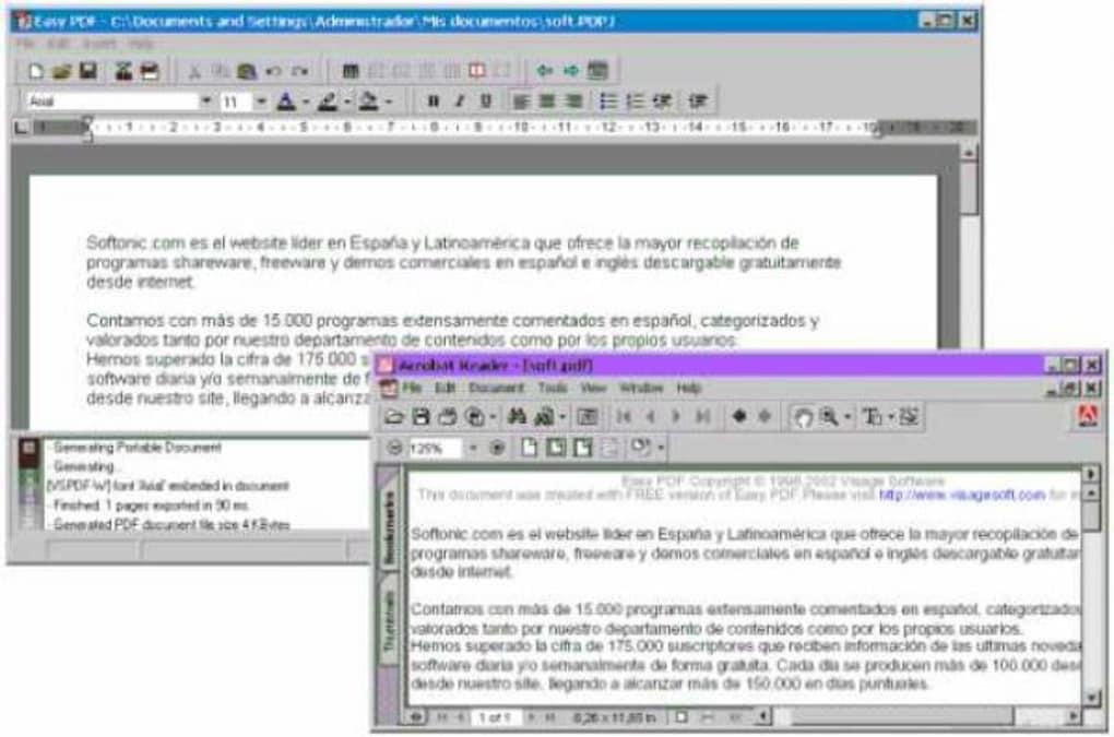 descargar adobe pdf softonic gratis