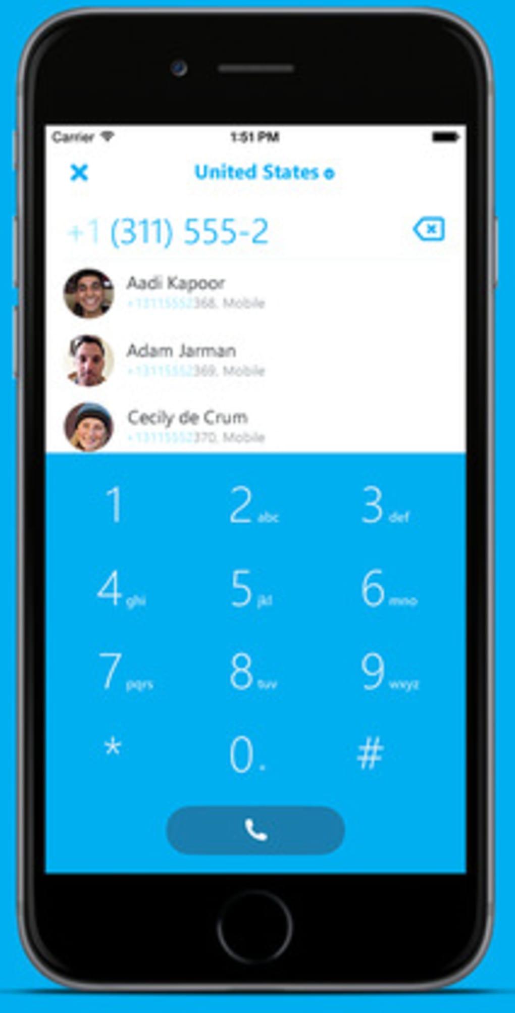 descargar skype gratis para iphone 6 plus