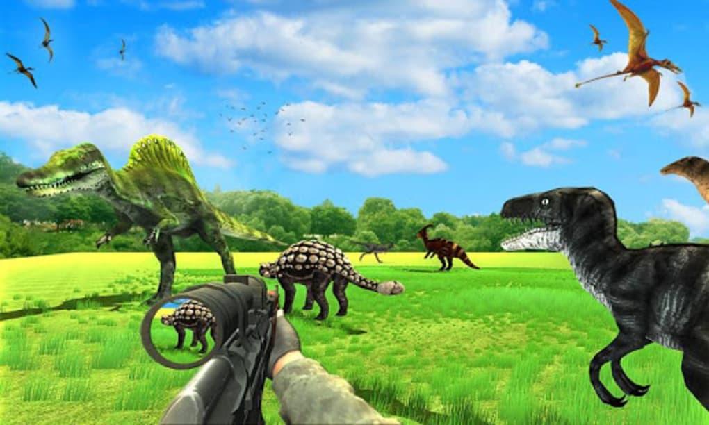 Dinosaur Hunter Free Wild Jungle Animals Safari