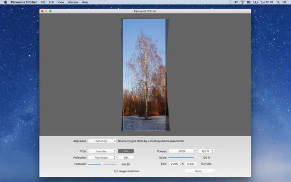 Panorama Stitcher for Mac - Download